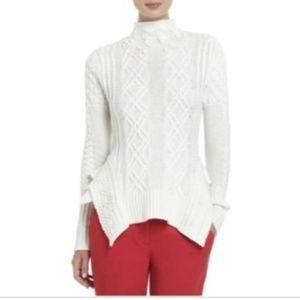 Maylin Cabled Turtleneck Sweater